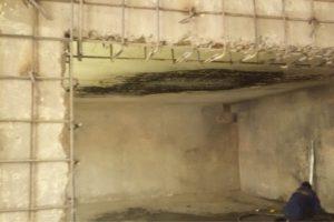 Торкретирование стен и потолка (Семена Ладогы, 4а)