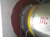 Герметизация ввода трубопровода в здание насосной изнутри