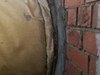 Герметизация ввода трубопровода в здание насосной с наружи
