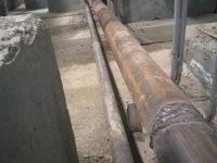 Монтаж дренажного трубопровода внутри