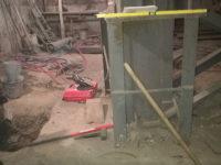 Устройство опорной площадки под дом-крат
