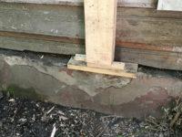Элемент усиления деревянной стены